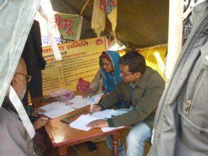Free health check up to Muzzaffar Nagar riot victim, organised by Alrazzaq Memorial Trust